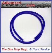 Blue Silicone Vacuum Pipe 1 Metre Length 3mm Bore Thick Wall Construction